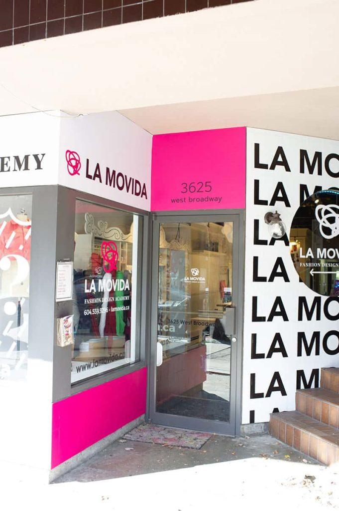 La Movida store front