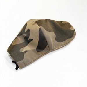 Face mask cameo camouflage